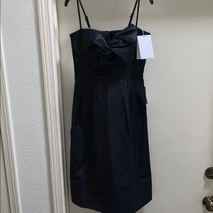 NWT Gal Meets Glam Lucille Navy Sparkly Dress